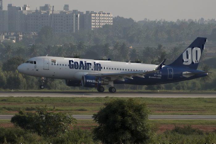 A GoAir Airbus A320