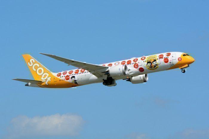 O Scoot de baixo custo já cobra pelo carregamento do 787. Foto: Masakatsu Ukon via Flickr