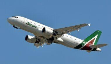 An Alitalia Airbus A320