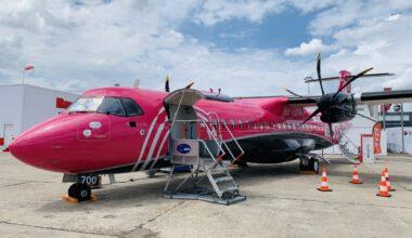 Silver Airways, ATR 72-600, first flight