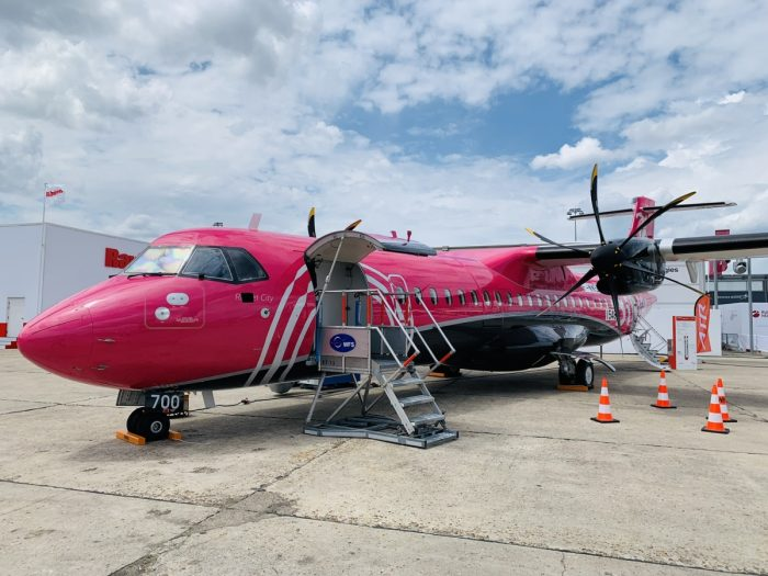 Silver Airways, ATR 72-600, first flight