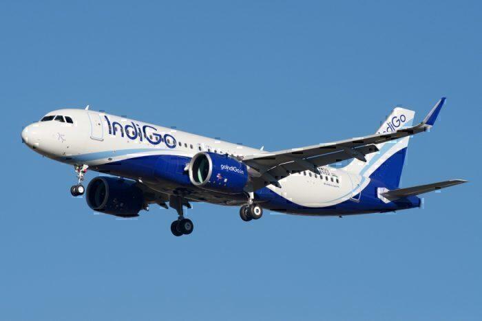 An IndiGo Airbus A320neo