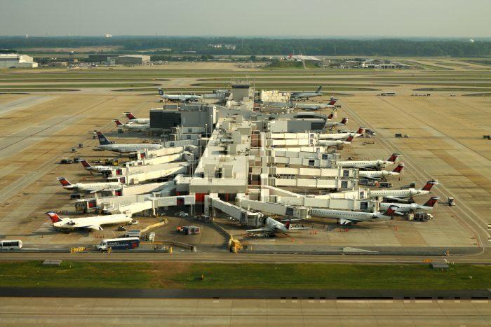 Atlanta Concourse D Aerial