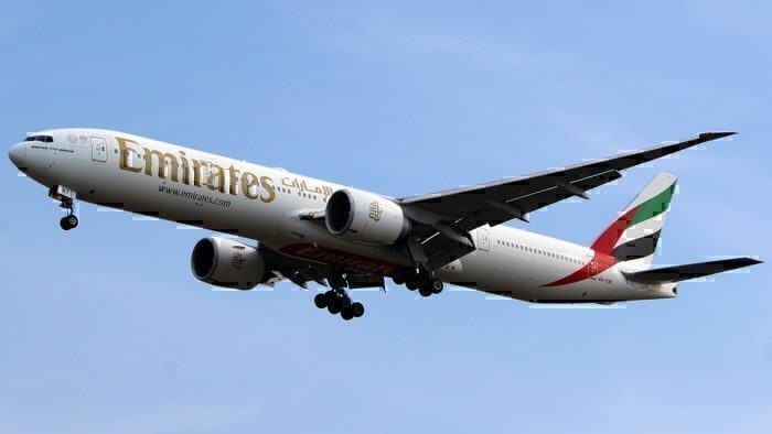 Emirates Boeing 777-31HER A6-ENT
