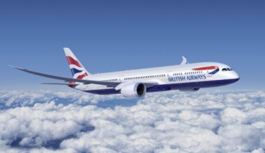British Airways, Boeing 787-10, Atlanta