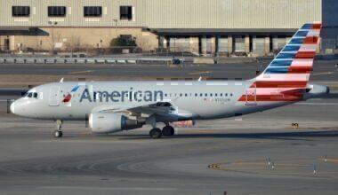 Airbus A319-112 'N705UW' American Airlines