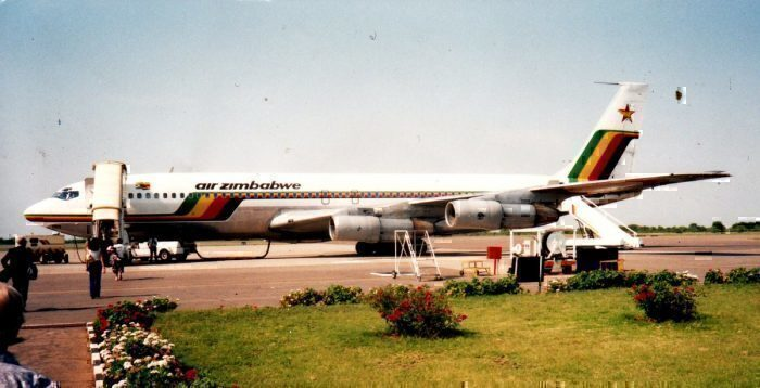 Air Zimbabwe Boeing 707