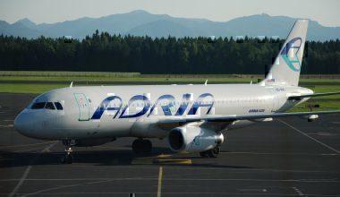 Slovenia's Adria Airlines Aircraft