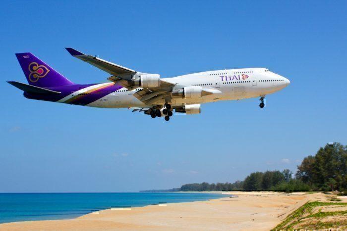 A Thai Airways Boeing 747