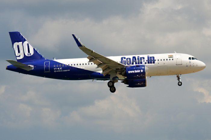 A GoAir Airbus A320neo