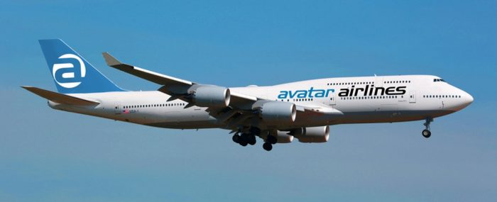 Avatar Airlines 747