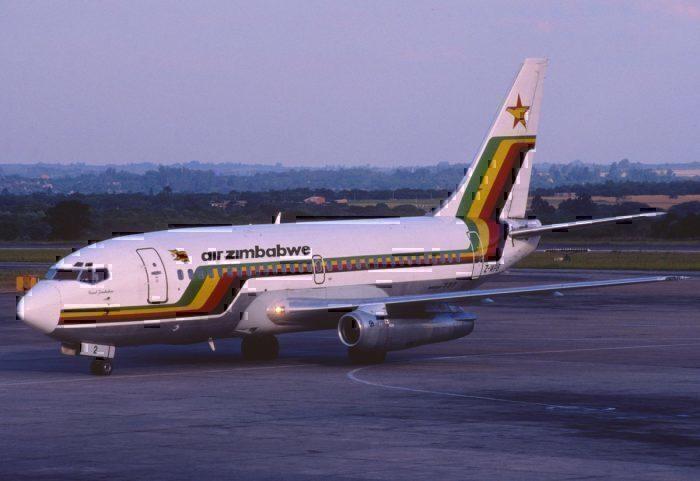 Air Zimbabwe Boeing 737-200; Z-WPB, November 1997/ BUG