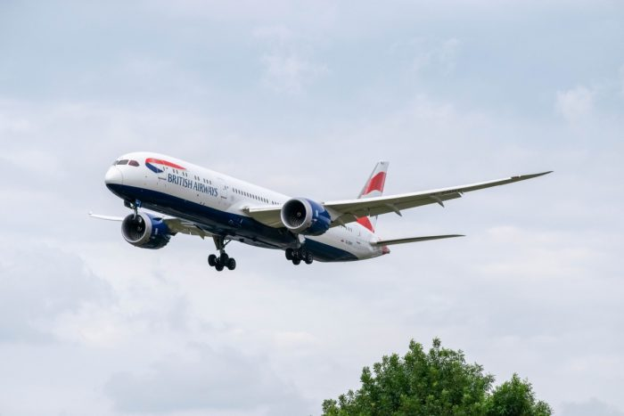 British Airways, Boeing 787-10, Atlanta