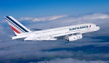 Air France A380 In Air