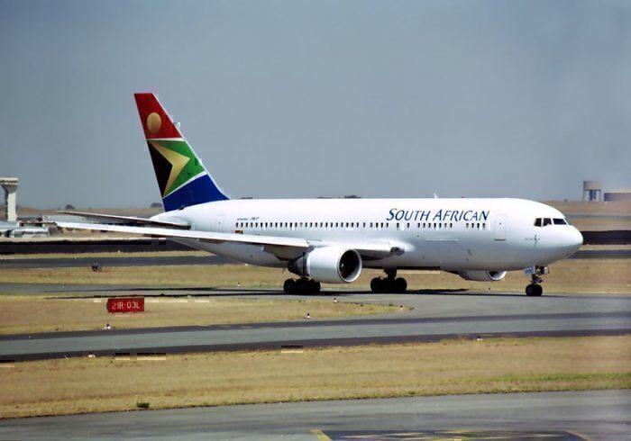 South African Airways B767-266ER ZS-SRB