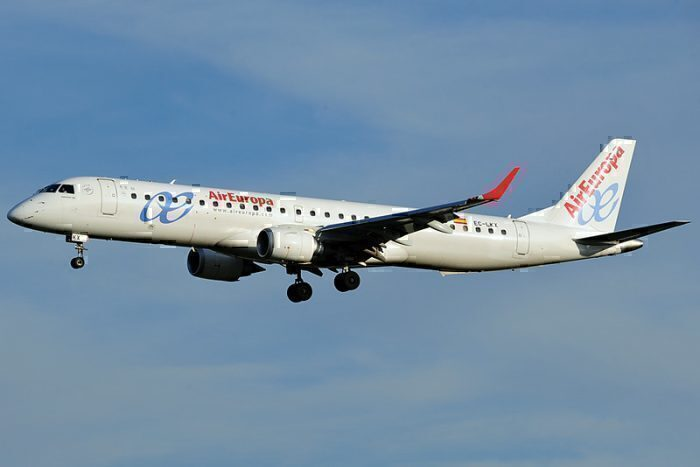 EC-LKX Embraer 195-200LR Air Europa