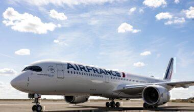 Air France Aircraft on Runway