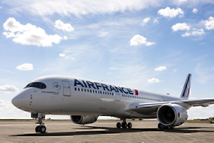 Air France Aircraft on Runway
