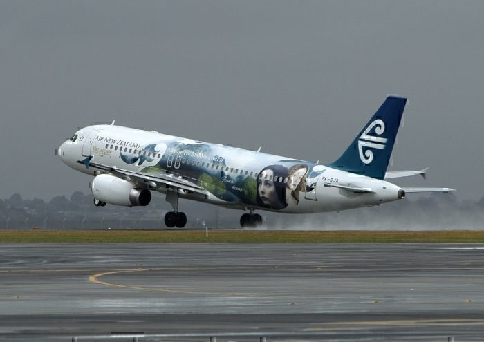 New Zealand Airlines' Lord of the Rings-themed livery