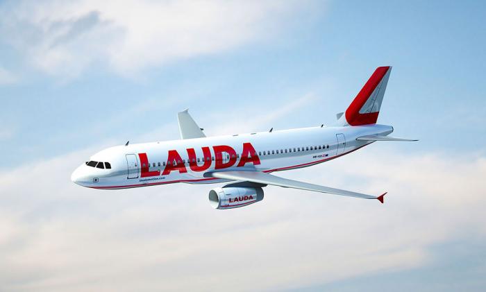 Laudamotion, Airbus A320, Fuerteventura