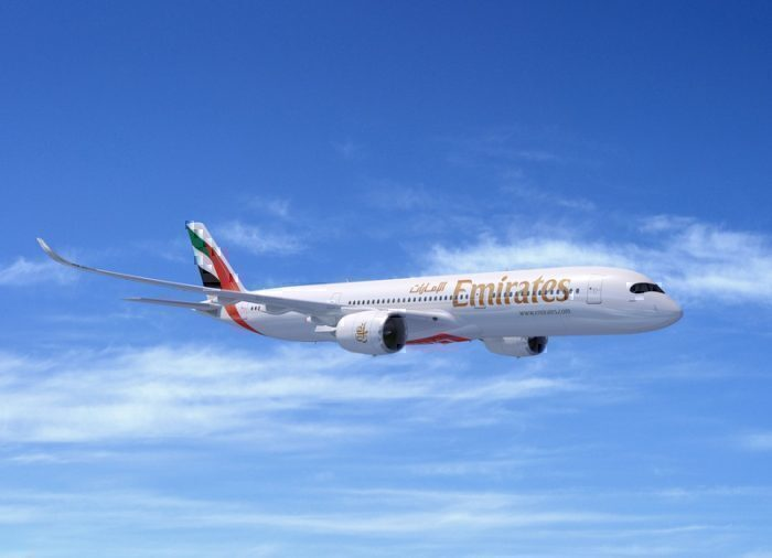 Emirates A350 preview