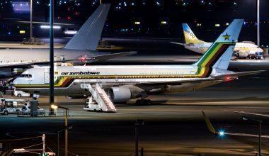 Air Zimbabwe B767-2N0/ER Z-WPE
