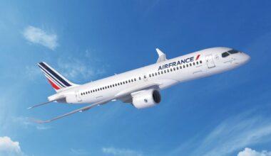 Air France, Airbus, A220-500