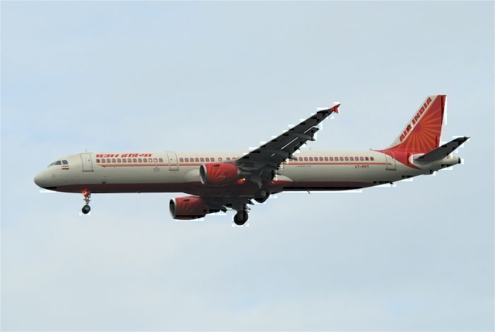 Air India, Airbus A321, Tail Pipe Fire