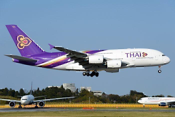 A Thai Airways Airbus A380