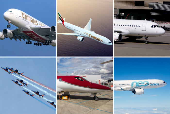 Dubai Airshow, Aircraft, 2019