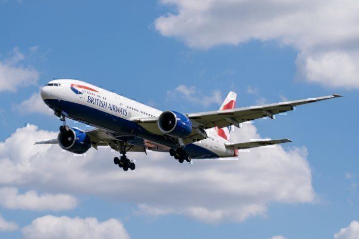 British Airways, Boeing 777, Fuel Leak