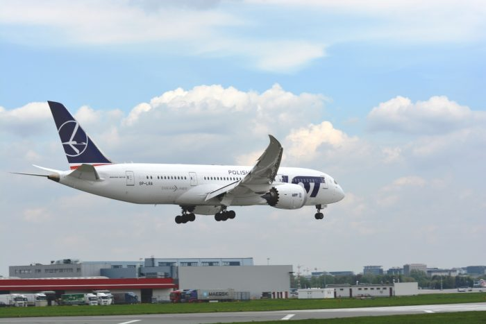 LOT Polish Airlines 787