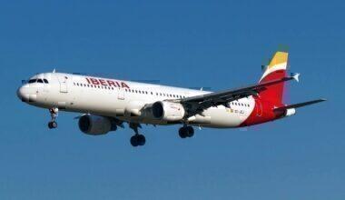An Iberia jet