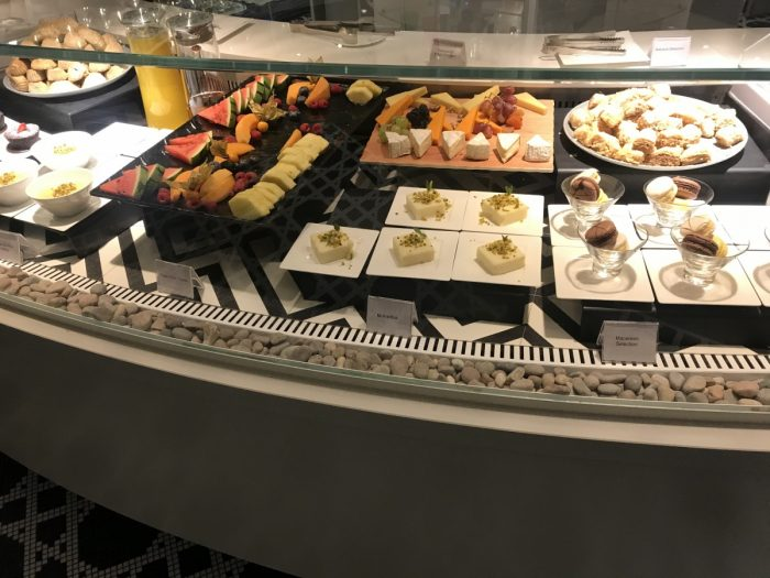 QA Premium Lounge Heathrow Food Counter 3