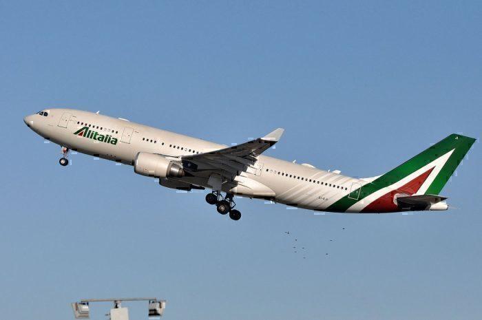 An Alitalia Airbus A330