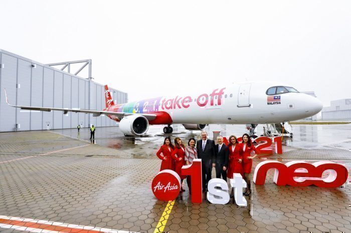 AirAsia Receives Its First Airbus A321neo