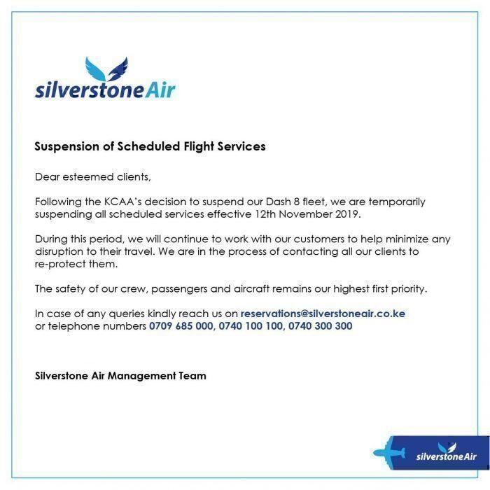 Silverstone statement