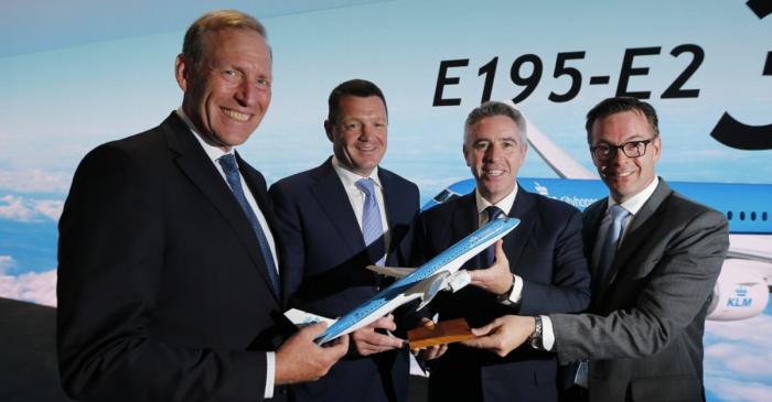 Embraer KLM order