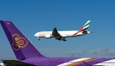 Emirates and Thai Flag Carrrier