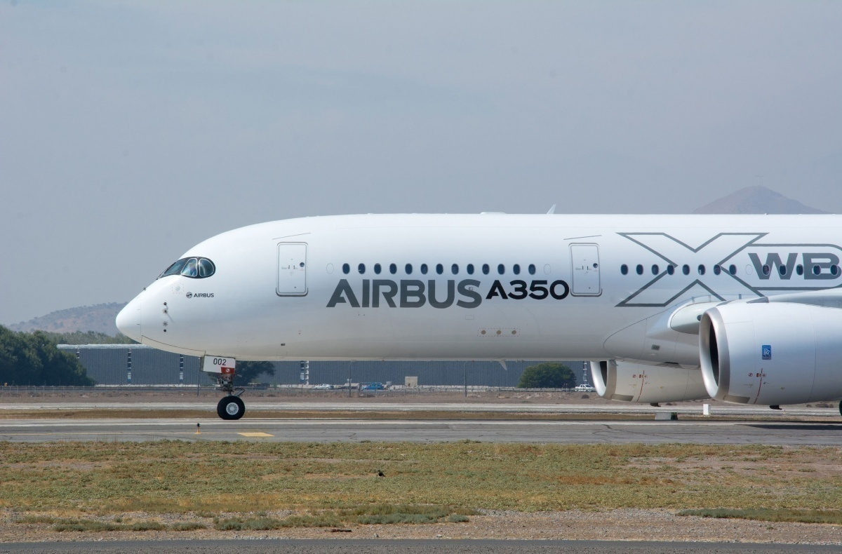 South African Airways Has Received Its 3rd Airbus A350