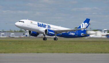GoAir, Airbus, A320neo