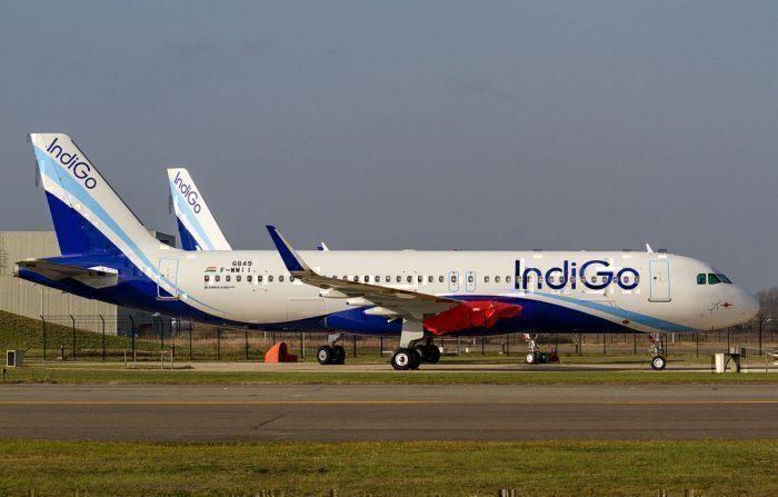 An IndiGo Airbus A320