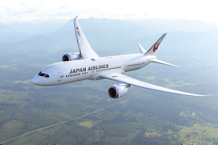 Japan Airlines (JAL) Boeing 787-8 Dreamliner
