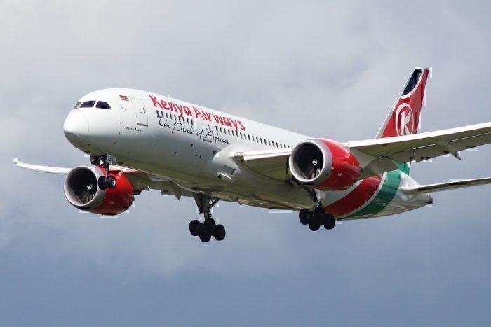 Kenya Airways Dreamliner