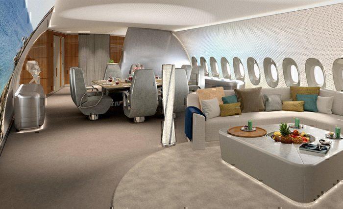 Lufthansa technik A350 cabin concept