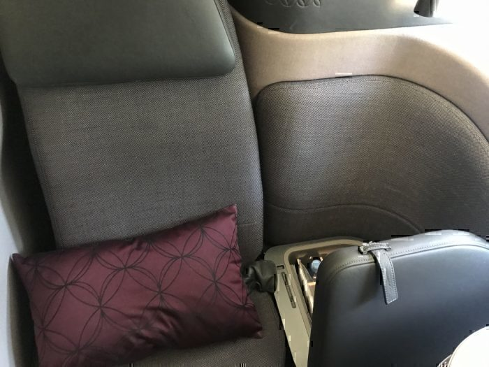 Qatar Airways Qsuite Seat