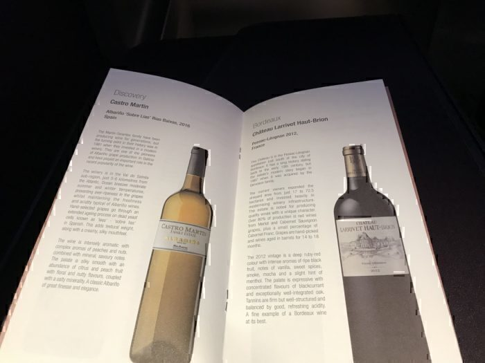 Qatar Airways Wine