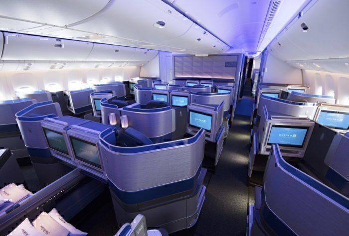 polaris business class seats