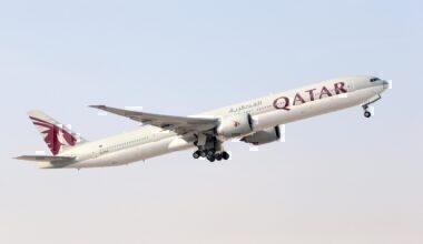 Qatar Airways Boeing B777-300ER