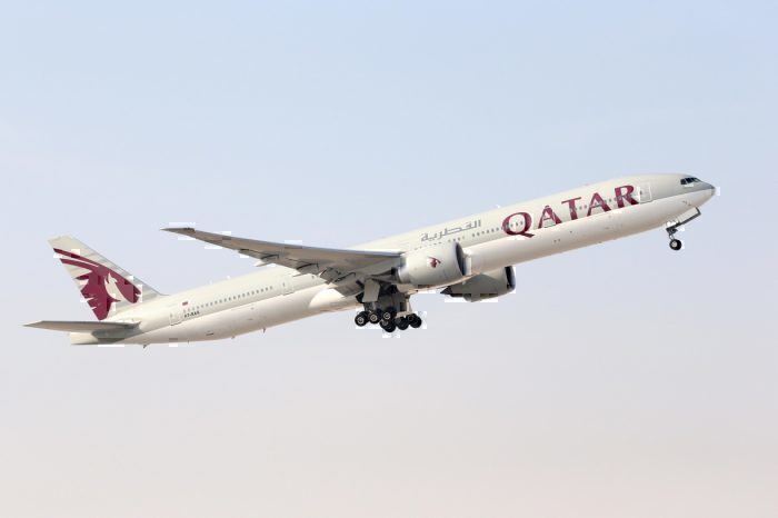 Qatar Airways Boeing B777-300ER